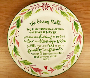 Pasadena The Giving Plate
