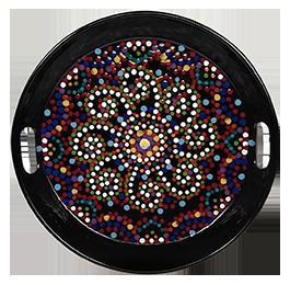 Pasadena Mosaic Mandala Tray