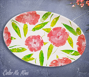 Pasadena Floral Paper Stamping